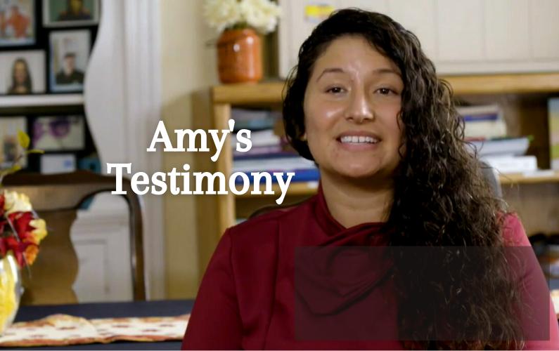 Amy's Testimony