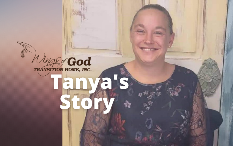 Tanya opens the book of her life story, writing a happy ending with God's help