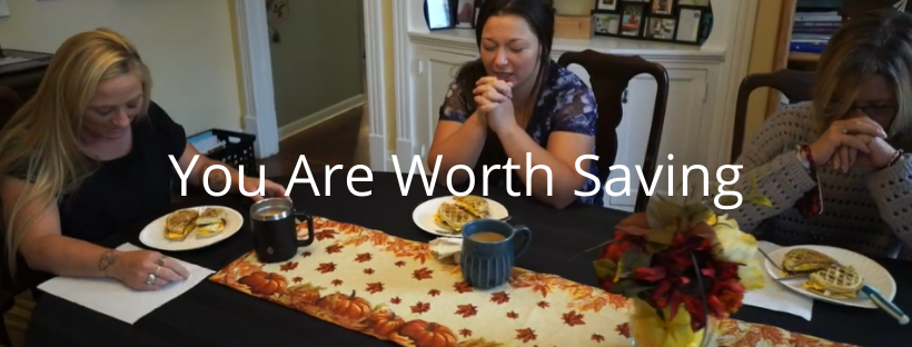 You are worth saving