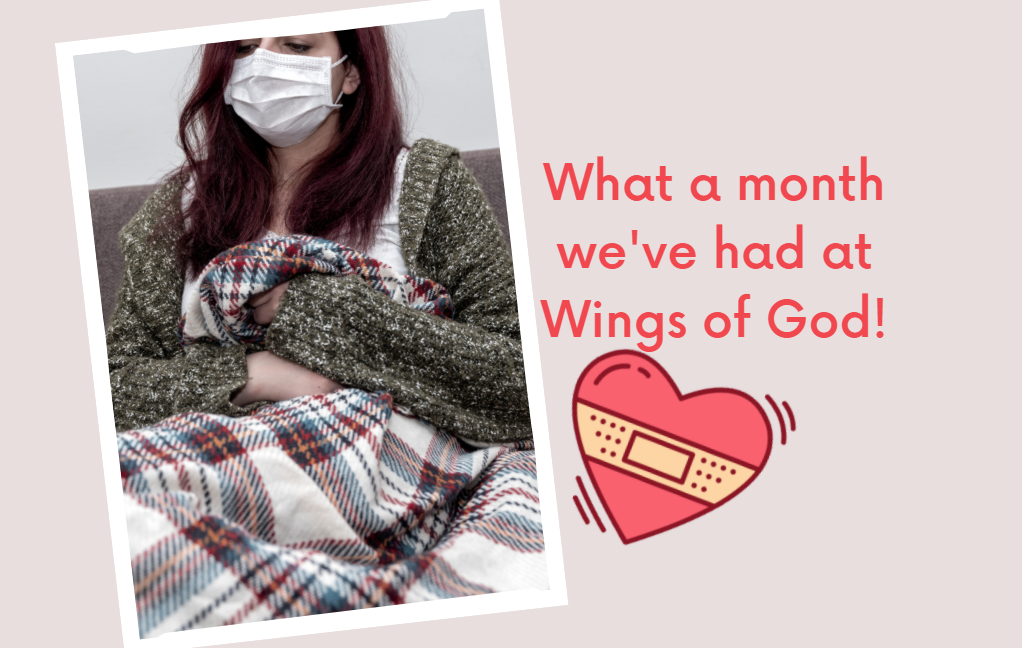 Covid Comes to Wings of God & Virtual Benefit Dinner Update