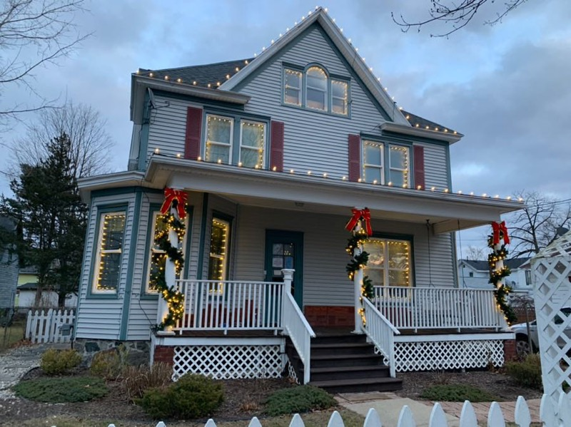 Wings of God Transition House Decorated for Christmas